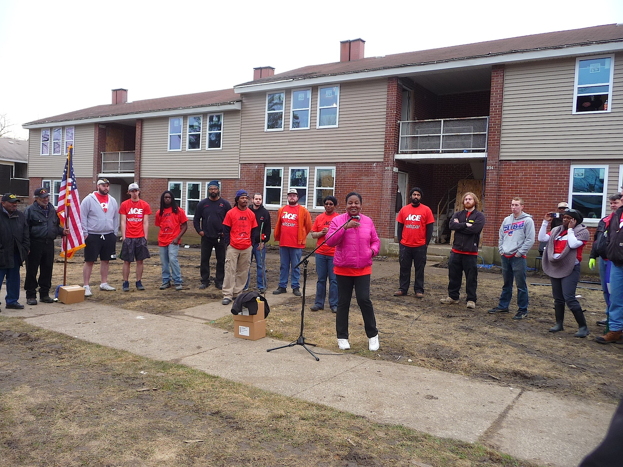 Gus Bock Ace Hardware and Valspar Paints Team Building Project - 8 Unit
